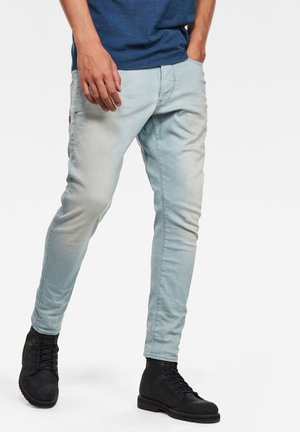 D-STAQ 3D SLIM - Jeans slim fit - sun faded cameo blue