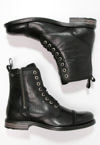 Sneaky Steve - FORDHAM - Lace-up ankle boots - black - 1