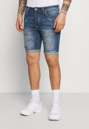 BRUNO - Denim shorts - blue wash