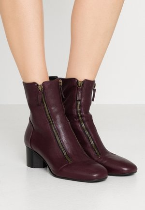 DANY - Classic ankle boots - prune