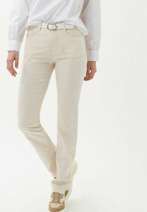 STYLE CAROLA - Jean slim - off-white