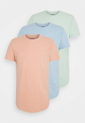 JJENOA TEE CREW NECK 3 PACK - Camiseta básica - dusty pink