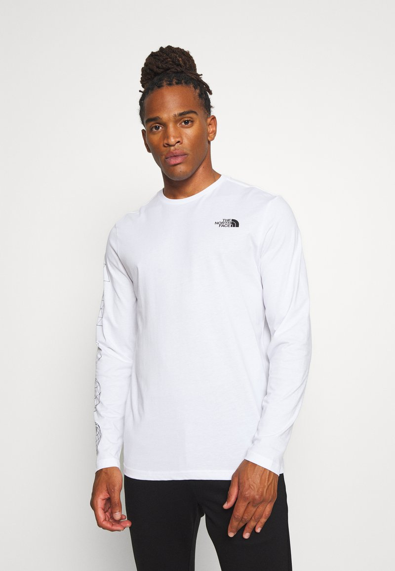 The North Face - GEODOME TEE  - Langarmshirt - white