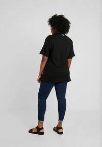 Fila Plus - PURE SHORT SLEEVE - T-shirt con stampa - black - 2