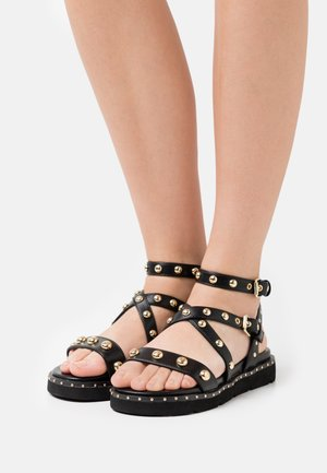 Sandals - soft nero