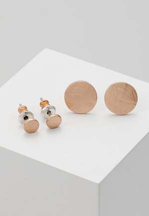 SET - Earrings - rosegold-coloured