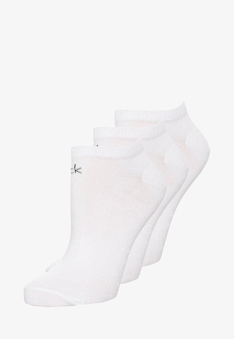 Calvin Klein Underwear - LOGO SNEAKER 3 PACK - Socks - white