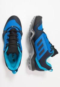 adidas Performance - TERREX AX3 - Hiking shoes - glow blue/legend ink/shock cyan - 1