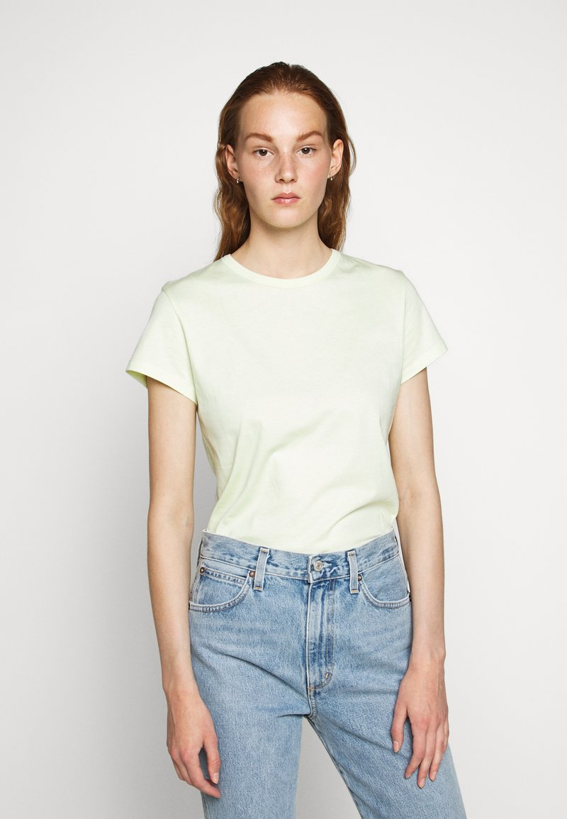 Filippa K - FLARED CAP SLEEVE - Jednoduché triko - faded acid