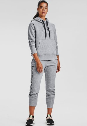 RIVAL FLEECE METALLIC - Hoodie - steel medium heather