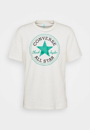 CHUCK TAYLOR ALL STAR PATCH GRAPHIC TEE - T-shirt con stampa - egret