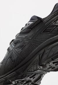 ASICS - GEL-VENTURE 7 WP - Chaussures de running - black/carrier grey - 5
