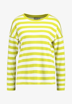 BYTIMO STRIPE - Langærmede T-shirts - acid yellow combi