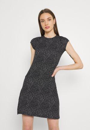 Jerseykjole - black/white