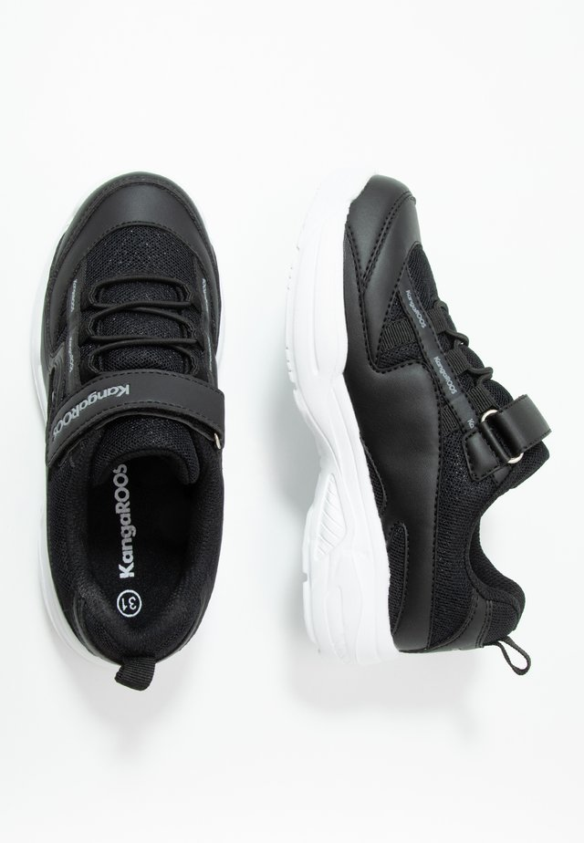 CHUNKY - Sneakers laag - jet black/steel grey