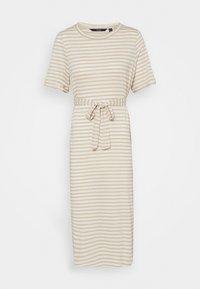 Vero Moda Petite - VMALONA CALF DRESS  - Maxi dress - white - 0