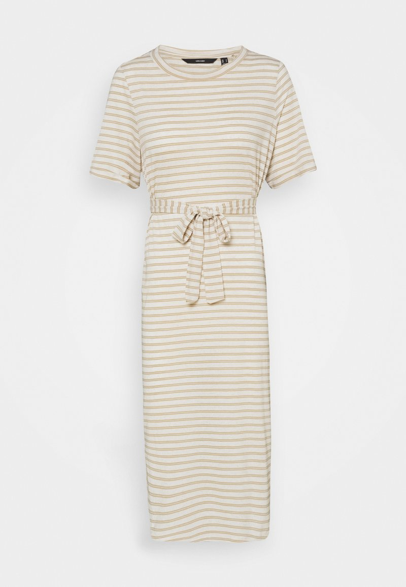 Vero Moda Petite - VMALONA CALF DRESS  - Maxi dress - white