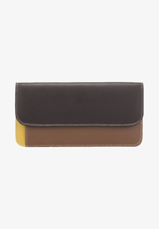 SIMPLE FLAPOVER - Wallet - brown