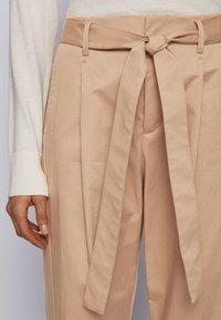 BOSS - TERMINE - Trousers - beige - 3
