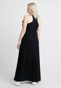 Urban Classics Curvy - LADIES LONG RACER BACK DRESS - Maxi šaty - black - 2