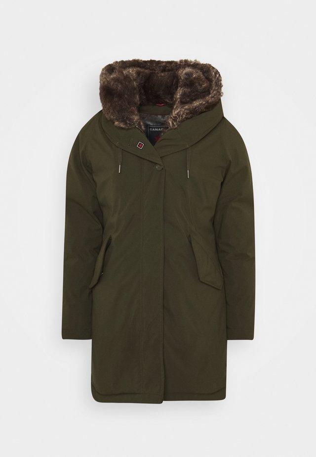 LANIGAN TECH - Płaszcz zimowy - army