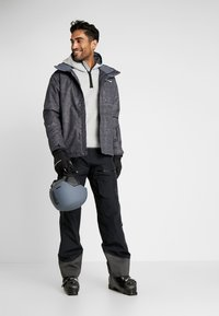 Norrøna - LOFOTEN GORE-TEX INSULATED PANTS - Spodnie narciarskie - caviar - 1