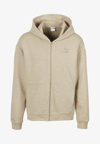 Puma - Zip-up hoodie - pale khaki - 3