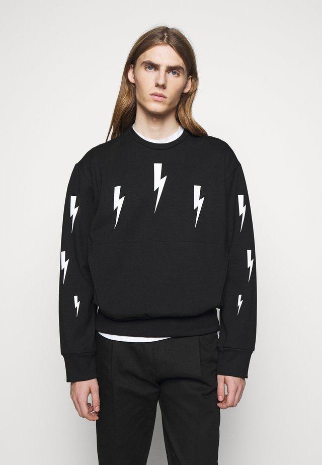 HALO BOLTS LIGHT - Långärmad tröja - black/white