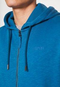 Esprit - Bluza rozpinana - petrol blue - 4
