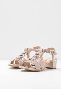 Caprice - Sandales - taupe metallic - 4