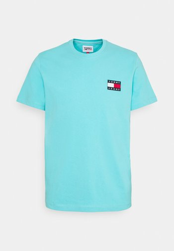 BADGE TEE  - T-shirt - bas - chlorine blue