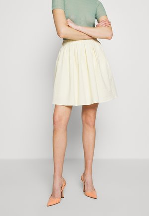 TAESJA STRIPE SKIRT - A-line skirt - yellow