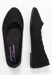 Skechers Wide Fit - CLEO - Ballet pumps - black - 3
