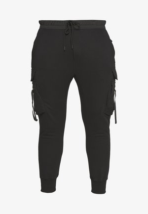 TACTICAL PANTS - Cargobyxor - black