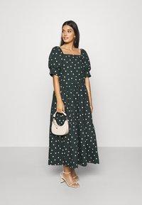 EDITED - JILL DRESS - Maxi šaty - dark spruce - 1