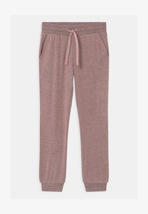 TEEN FIONA - Tracksuit bottoms - dusty pink