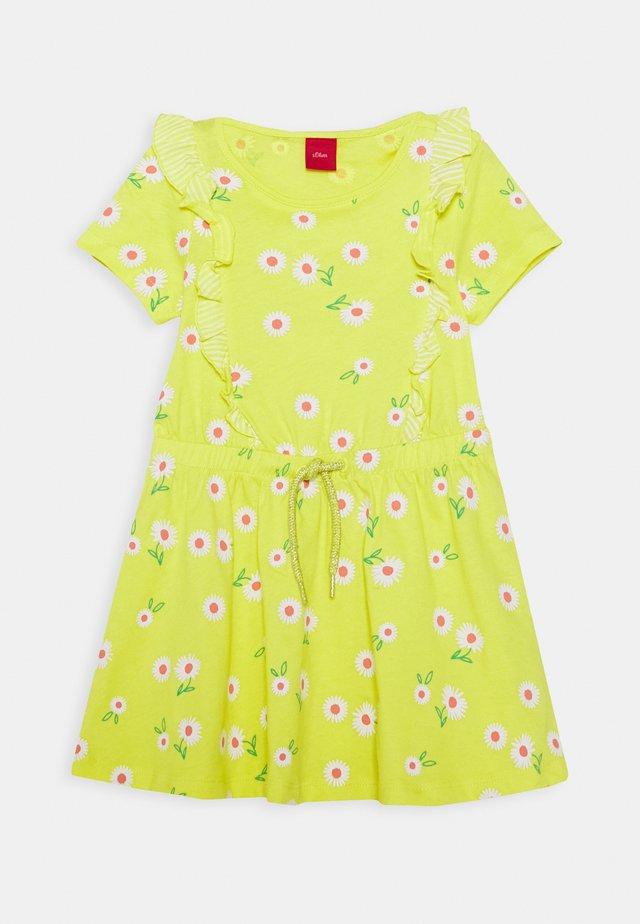 Žerzejové šaty - sunshine