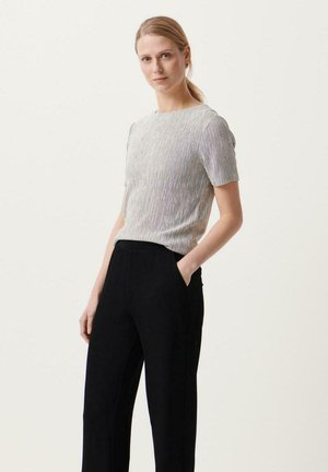 Blouse - black/off-white