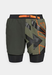 Under Armour - RUN ANYWHERE SHORT - Sportovní kraťasy - khaki - 4