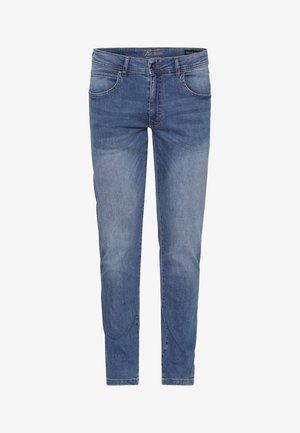 Straight leg jeans - soft blue wash