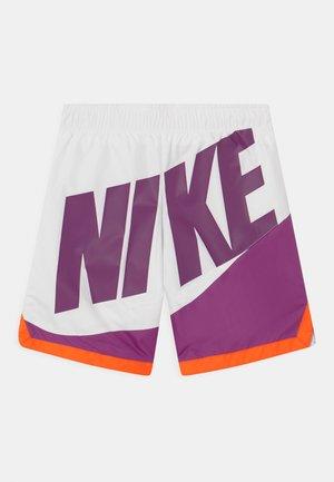 BLOCK PIECED - Shorts - purple
