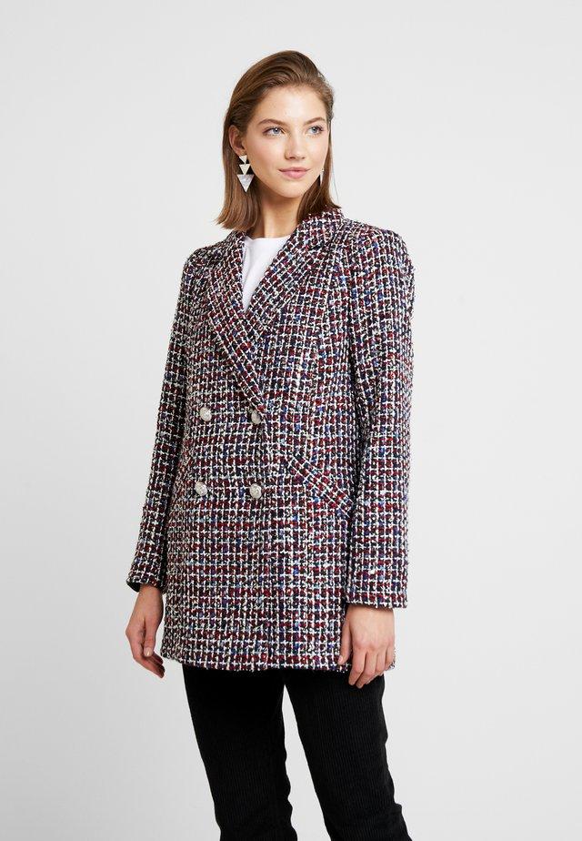 ALEXA ARIEL - Short coat - red multi