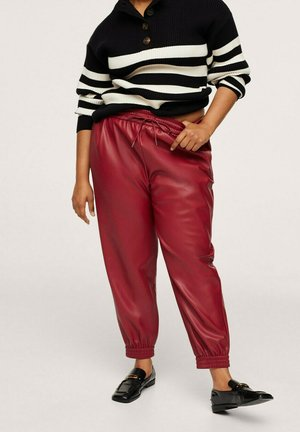 Trousers - rouge