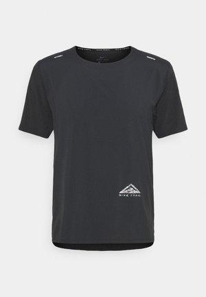 TRAIL RISE - Camiseta de deporte - black/silver