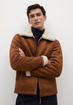 ORSON - Light jacket - kognac