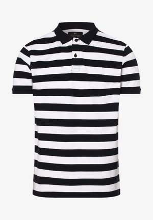 Polo shirt - weiß marine