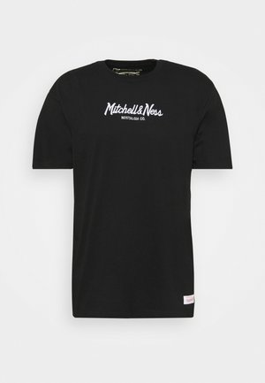 BRANDED PINSCRIPT TEE - T-shirt med print - black