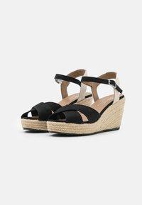 TOM TAILOR - Platform sandals - black - 2