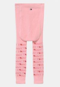 Tommy Hilfiger - BABY 2 PACK UNISEX - Leggings - Stockings - dark blue/pink - 1