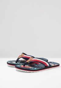 Tommy Hilfiger - TROPICAL PRINT BEACH  - T-bar sandals - red - 2